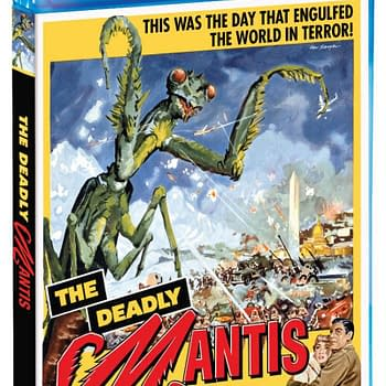 Scream Factory Brings The Deadly Mantis to Blu-ray in March