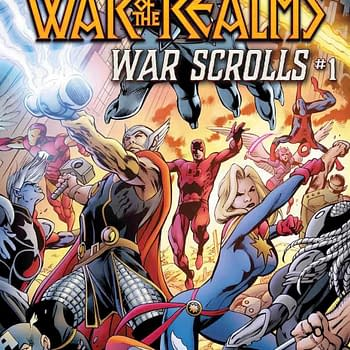 Marvels Biggest Event Ever Gets Even Bigger with War of the Realms: War Scrolls