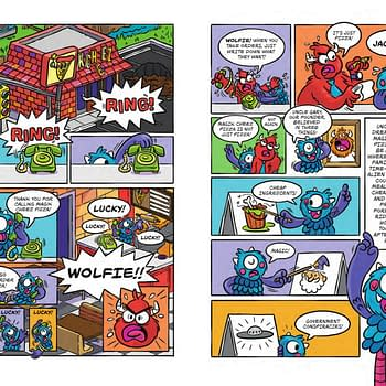 Joey Ellis Wolfie Monster for Scholastic Gets a Free Comic Book Day 2019 Preview