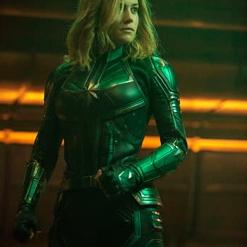 Captain Marvel TV Spot- Skrull-Growlin Laser Tag Glowing Carol