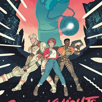 Space Gays Battle the Patriarchy in Hannah Templers Cosmoknights