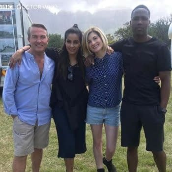 Doctor Who Series 12: BBC Image Confirms Production Underway