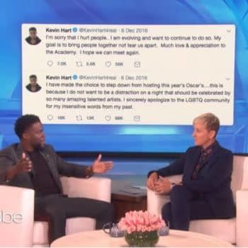 Oscars 2019: Kevin Hart Returning? If Ellen DeGeneres Has Anything to Say About It (VIDEO)