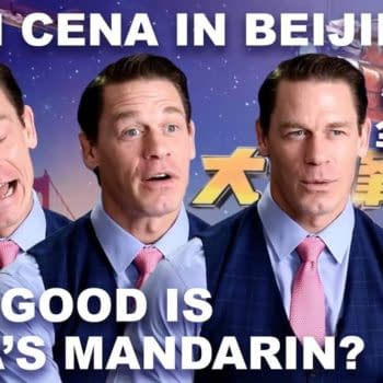John Cena Answers English Questions Entirely in Mandarin Chinese