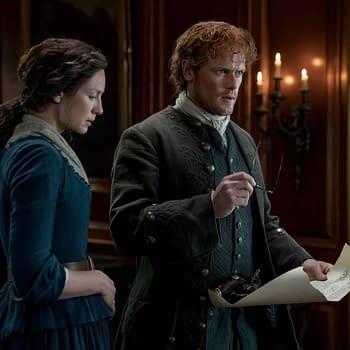 Outlander Season 5 Wraps Richard Rankin Sophie Skelton Twitter Q&#038A Today