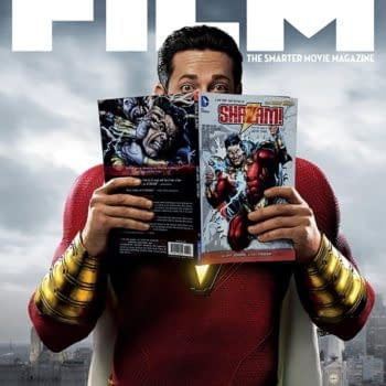 New Issue of Total Film has Zachary Levi as Shazam on Cover