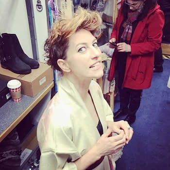 Talking to Amanda Palmer From the Set of Syfys Happy Season Two