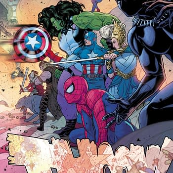 Frankensteining Marvel Comics April 2019 Solicitations – Princess Leia, Thanos and War Of The Realms