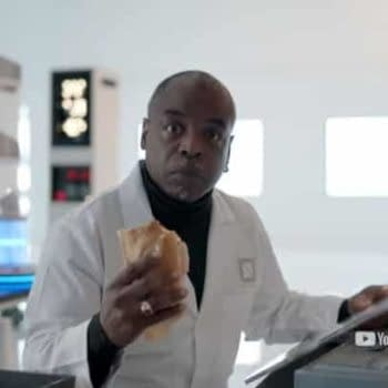 Weird City: Levar Burton's Dr. Negari Has a Vision for Humanity – That Might Involve a Sandwich (VIDEO)