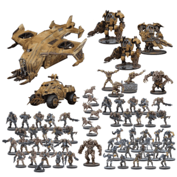 Mantic Shows off the Goods with Upcoming Warpath Releases
