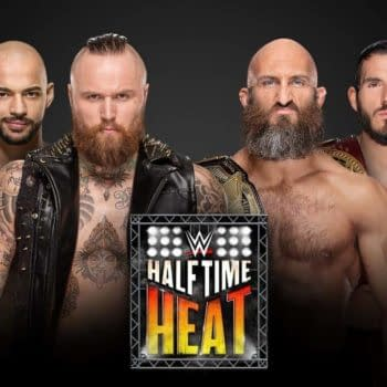 WWE Halftime Heat Returns with NXT 6-Man Tag Match; Shawn Michaels Announcing
