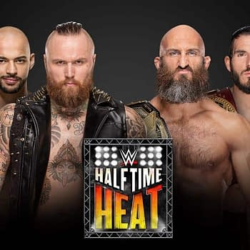 WWE Halftime Heat Returns with NXT 6-Man Tag Match Shawn Michaels Announcing