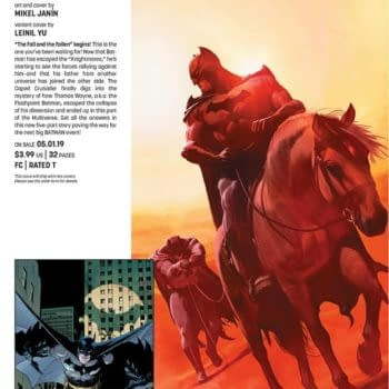 DC's Solicits Tease a Batman Event with Flashpoint Thomas Wayne from Tom King