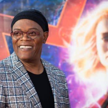 "Samuel L. Jackson Says Carol Danvers was ""Pretty Badass"" Before Becoming Captain Marvel"