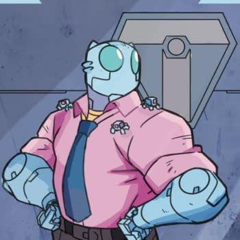 Robot Bonding and Adventure in Atomic Robo: Dawn of the New Era #2