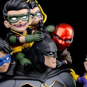 Check Out Quantum Mechanix Adorable New Bat-Family Q-Master Diorama