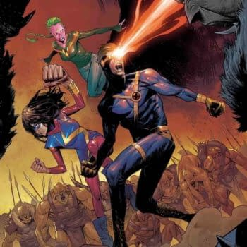 Adult Cyclops Rejoins the Champions for War of the Realms