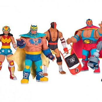 DC Collectibles Making New Line of Lucha Libre Inspired Figures