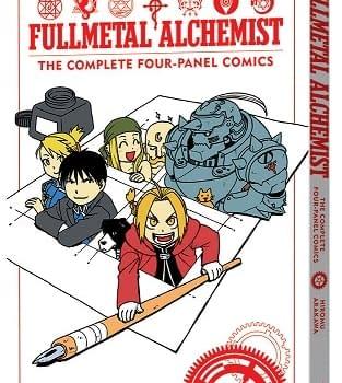 Viz Announces Fullmetal Alchemist: The Complete Four-Panel Comics