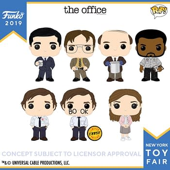 Funko New York Toy Fair Reveals: TV Adams Family Cheers Xena The Office and More