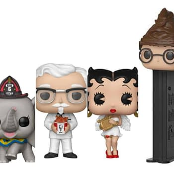 Funko Round-Up: Dumbo WWE Betty Boop KFC and More