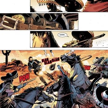 Marvel Goes All Red Dead Redemption in Next Weeks Gunhawks #1