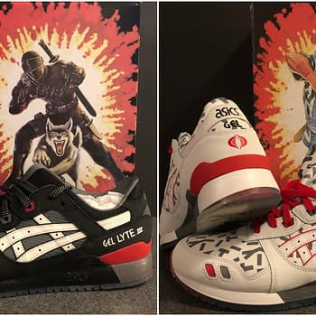 Hasbro and Asics Pair Up For New G.I. Joe Shoe Line Available at Foot Locker Now