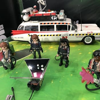 New York Toy Fair: Playmobil Bringing More Ghostbusters Christmas Products to Stores