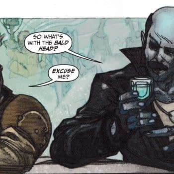 Does Sharkey The Bounty Hunter #1 Have a Veiled Dig at Grant Morrison?