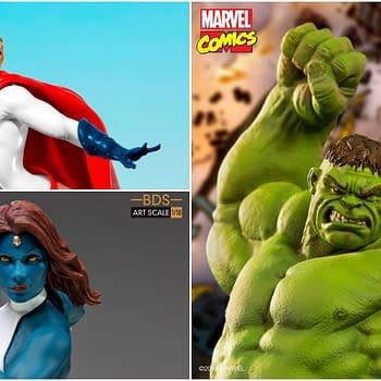 Iron Studios Opens Up Orders For New Marvel DC Comics Statues