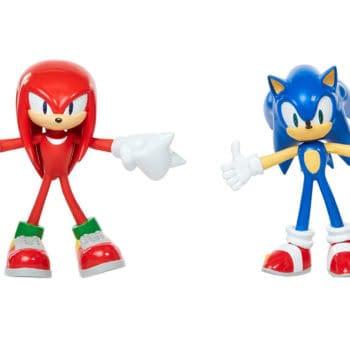Jakks Pacific Sonic The Hedgehog Figures