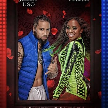WWE Trading Card Set Ships Jey Uso with Naomi&#8230 His Brother Jimmys Wife