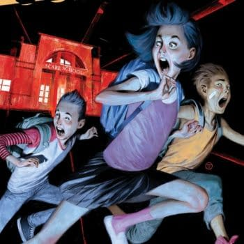 """First Look at R.L. Stine's """"First"""" Graphic Novel, Just Beyond: The Scare School"""