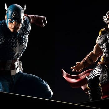 Kotobukiya Announces New Statue Line Cap and Thor Are First