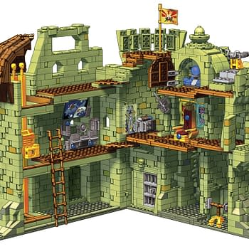 Masters of the Universe MegaConstrux Castle Grayskull Revealed