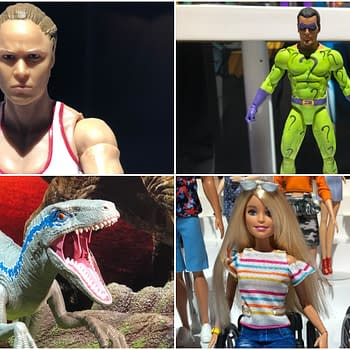 New York Toy Fair: 100+ Pics From Mattel Including WWE Jurassic WorldBarbie and More