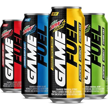 Mountain Dew Releases New Gamer Soda MTN DEW AMP Game Fuel