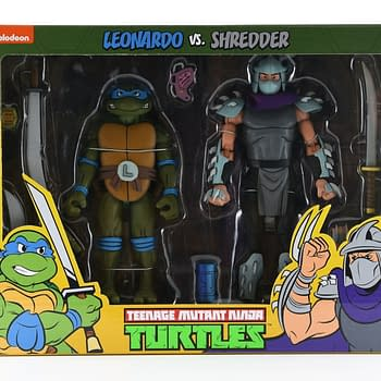 NECA Bringing TMNT Cartoon Figure Two Packs to Target