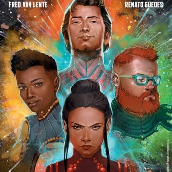 Psi-Lords Returns to Valiant, by Fred Van Lente and Renato Guedes