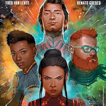 Psi-Lords Returns to Valiant by Fred Van Lente and Renato Guedes