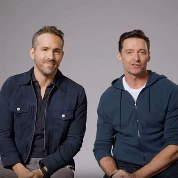Hugh Jackman Ryan Reynolds Plug Each Others Products Epically