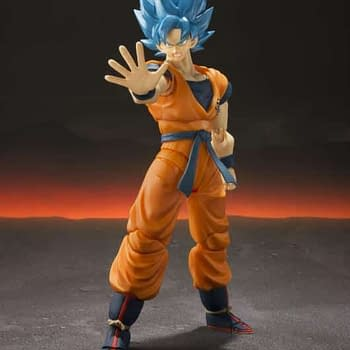Dragon Ball Super: Broly Movie Goku Figure Coming Soon From S.H. Figuarts