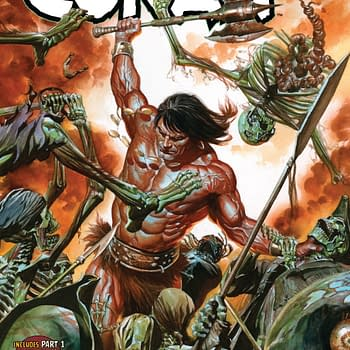 Conan Learns a New Trade in Next Weeks Savage Sword of Conan #1