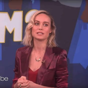 Brie Larson Raises Money for #CaptainMarvelChallenge with Ellen