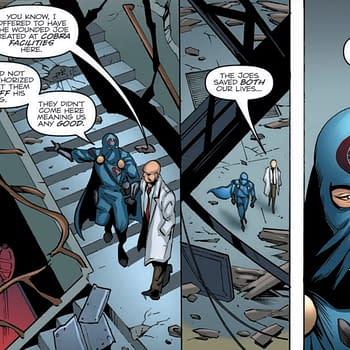 Is Doctor Mindbender a Traitor in Tomorrows GI Joe: A Real American Hero #259