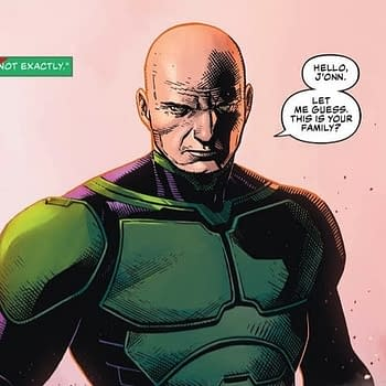 Martian Manhunter and Lex Luthor Team Up in This Weeks Justice League #17