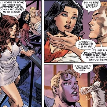 The Pressure of Aphrodite Judging Your Love Life in Tomorrows Wonder Woman #64 (Preview)