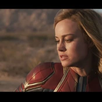 """Brie Larson Gets Emotional in """"Becoming Captain Marvel"""" Featurette \"""