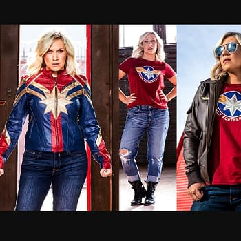 Her Universe Hot Topic Release New Captain Marvel Inspired Line