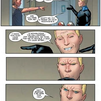 Johnny Storm is Slow on the Uptake in Next Weeks Friendly Neighborhood Spider-Man #3 (Preview)